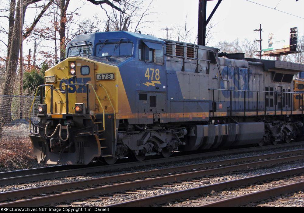 CSX 478 leading Q404